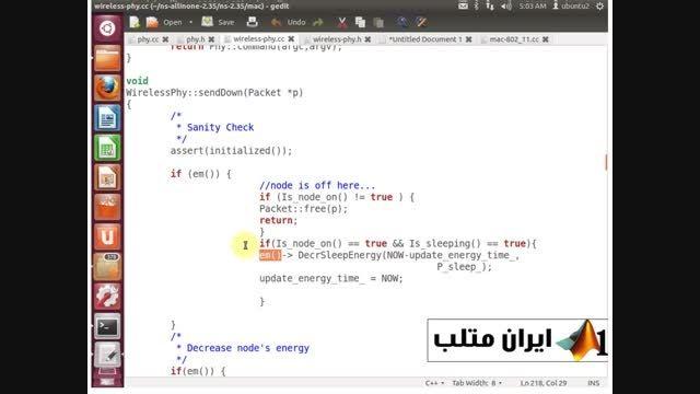 قسمت سوم دانلود فیلم فارسی شبیه سازی شبکه NS2