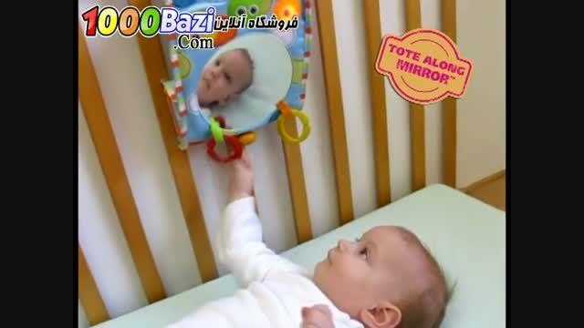 عروسک آینه ای کنار تخت کودک Yookidoo