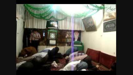 نماز جماعت در روز عید مبعث در هیئت محبان الحسین (ع)