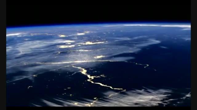 ویدئو جالب از کره زمین توسط آژانس فضایی