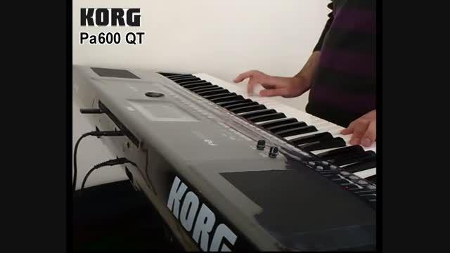 آهنگ شاد از معین با ارگ Pa600