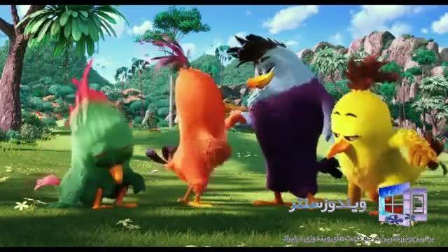 انیمیشن جدید بازی Angry Birds