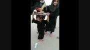 پذیرایی از زائران پیاده روی عظیم اربعین حسینی 2014