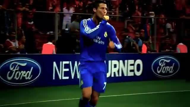هایلایت بازی کریستیانو رونالدو مقابل گالاتاسرای (2013)