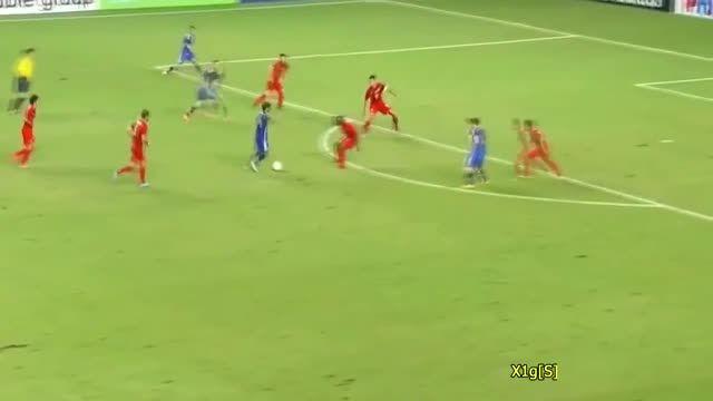 حرکات و گل های دیدنی لیونل مسی در تیم ملی آرژانیتن