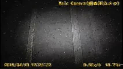اولین تصاویر دریافتی از درون رآکتور ذوب شده فوکوشیما