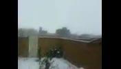 بارش اولین برف پاییزی در هریس