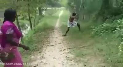 روش مرگبارکشتن مار!!!