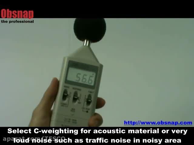 صدا سنج,مدل TES-1351 ، ساخت کمپانی TESتایوان