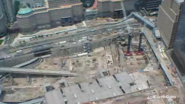 تایم لپسی از ۱۴سال ساخت برج جدید تجارت جهانی در نیویورک