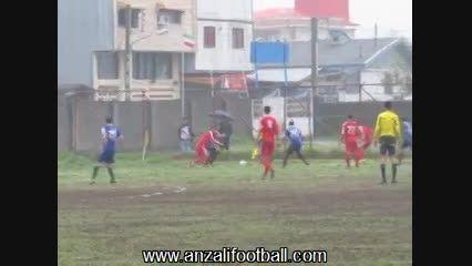 جوانان شهرداری انزلی 2-1 شهرداری ماسال