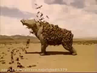 یوینتاتریوم در تبلیغ خنده دار تلوزیونی