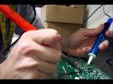 تعمیر تلویزیون ال سی دی ال جی قسمت اول LCD TV Repair (LG tv)