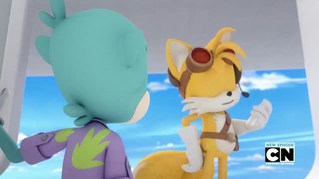 قسمت هفتم انیمیشن Sonic Boom 2014