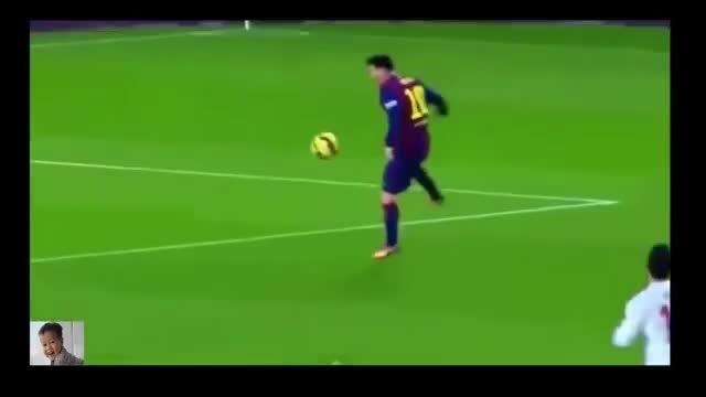 حرکات برتر و دیدنی لیونل مسی در لیگ قهرمانان اروپا 2015