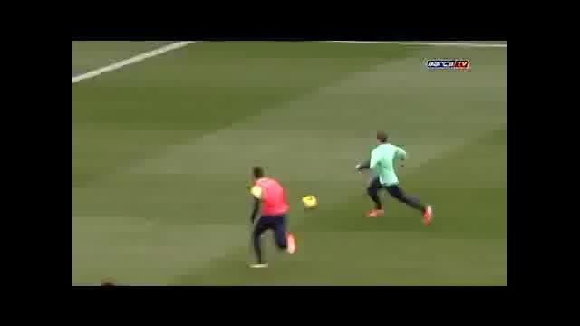 تمرینات بارسلونا (لیونل مسی)
