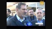افتتاح طرح های عمرانی در همدان