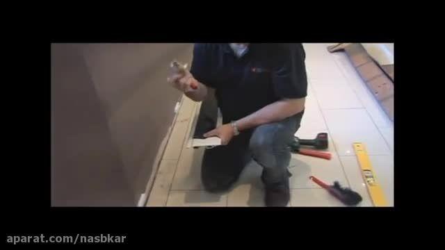 راهنمای تصویری نصب رادیاتور های قرنیزی - نصب كار