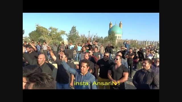 فیلم پرشکوه مراسم چهلم بیت الله عباسپور- جمعه 10 مهر 94