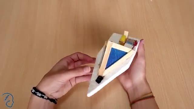 ساخت قایق موتوری ساده