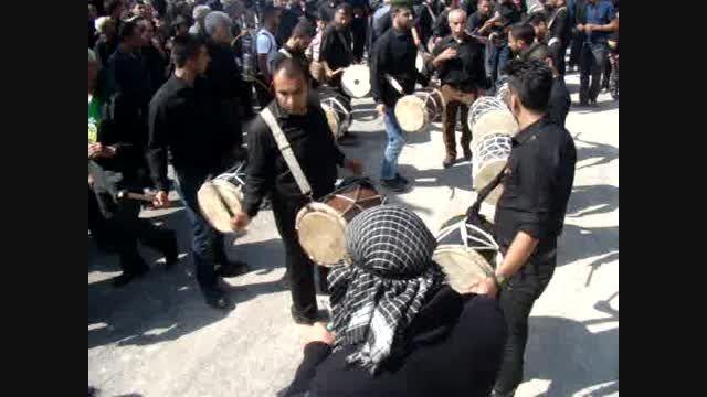 دمام زنی بوشهری روز تاسوعا در بهشت زهرای کازرون