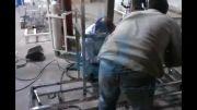 پروسه تولید دستگاه تصفیه آب در شرکت تمدن آریا