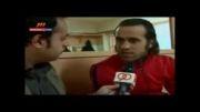 مصاحبه ی جنجالی علی کریمی علیه دایی