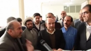 بازدید از مرکز دیالیز قدس و نشست خبری وزیر بهداشت