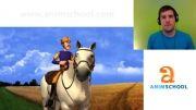 آموزش انیمیشن  با مدرسه انیم اسکول  1-anim school