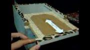 جعبه ی چوبی