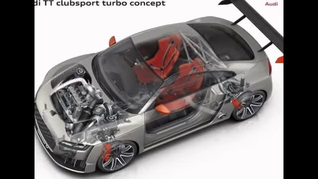 جدید ترین ماشین شرکت آئودی Audi TT CLubsport Turbo