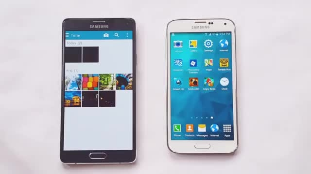Samsung Galaxy Note 4 vs Galaxy S5 Speed Test