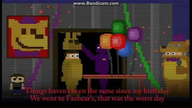 song_Five Nights at Freddy 4