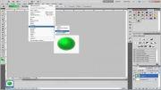 آموزش ساخت گوی سه بعدی در فتوشاپ