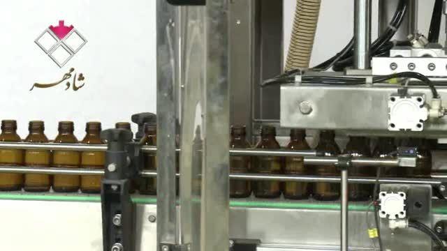 دستگاه بسته بندی پرکن مایعات چهار نازل(شرکت شادمهر)