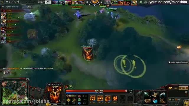 OG vs. Secret Game 4 Highlights Dota ۲