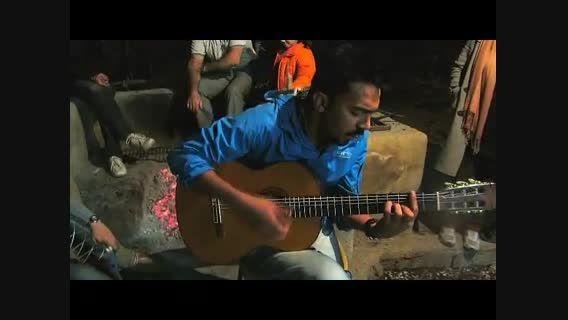 اجرای زنده مسعود حسنلی با گیتار