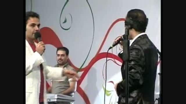 شوخی های باحال احسان علیخانی و حسن ریوندی در جشن بزرگ