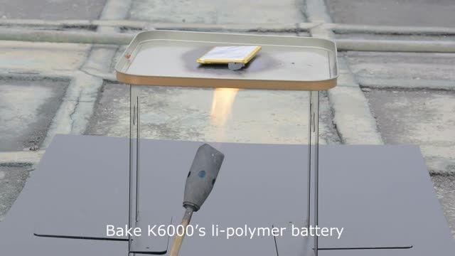 مقایسه انفجار باتری لیتیوم-یون با باتری لیتیوم-پلیمری