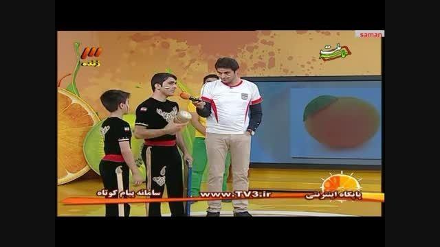 پسر ورزشکار ۱۳ ساله( ژیمناسیک )قسمت دوم
