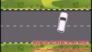 دور زدن دو فرمان - آموزش مجازی رانندگی