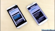 Samsung Galaxy S4 vs HTC One , Which Is Faster