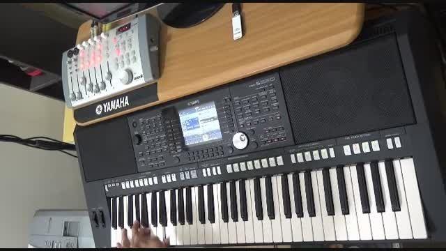 نوازندگی ریتم 6و8 با یاماها S950