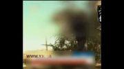 مصر لحظه شلیک به بالگرد با موشک دوش پرتاب