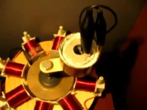 دستگاه تولید انرژی برق رایگان