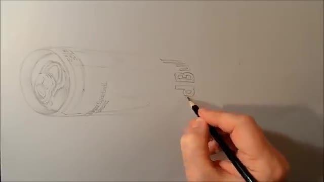آموزش نقاشی سه بعدی...قسمت سوم