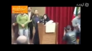 فیلم: سخنرانی مردانه دختر دانشجو مقابل مطهری