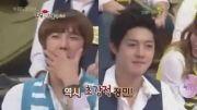 مسابقه خنده دار جونگ مین و کیم هیون جونگ