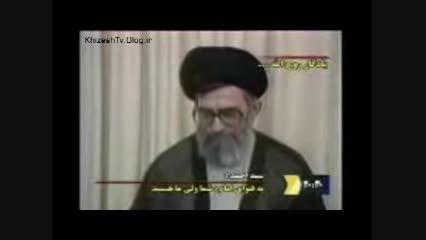توصیف امام خامنه ای از زبان فرزند امام خمینی(ره)
