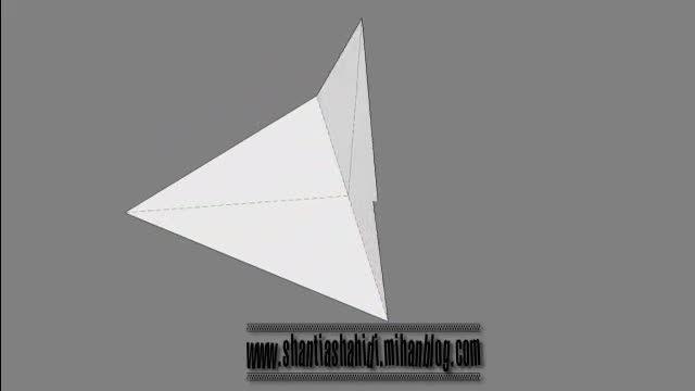 اوریگامی پرنده